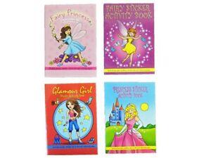 nina-actividad-Puzzle-Sticker-Book-20-Paginas-De-Regalo-Divertido-Bolsa-Fiesta