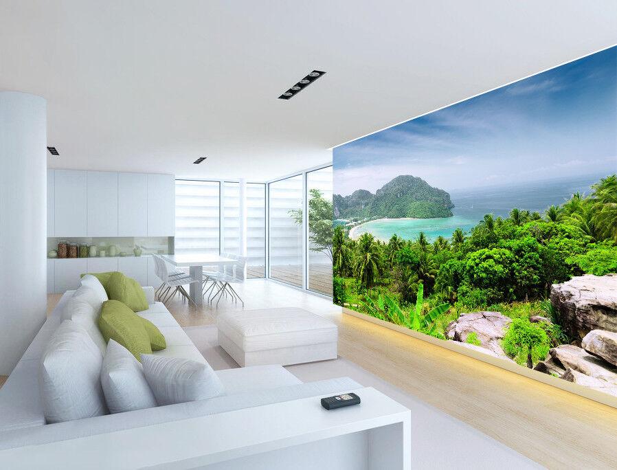 3D Tropical Forest 754 Wall Paper Murals Wall Print Wall Wallpaper Mural AU Kyra