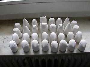 32-Schachfiguren-034-Indio-034-aus-hochwertigen-Modellbau-Gips