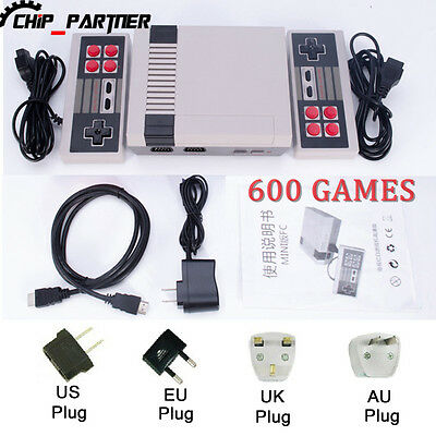 Mini HDMI  600 Games Retro handheld game player Family TV video game console