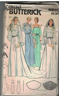 4540 UNCUT Vintage Butterick SEWING Pattern Easy Misses EILEEN WEST Dress FF OOP