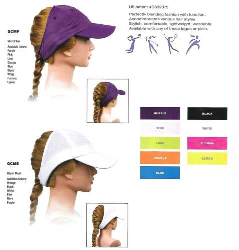 WOMENS LADIES Microfiber Rayon Mesh One Size OUTDOOR SPORTS WEAR CAP HAT New