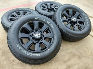 Ford F250 Wheels >> Details About 20 Ford F 250 F 350 Oem Black Sport 2019 Rims Wheels Tires 2016 2017 2018 10102