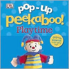 Pop-Up Peekaboo: Playtime Board book,NEW by DK