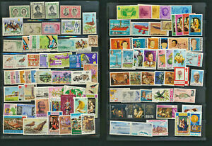 British-Colonial-Mint-NH-Collection-100-Different-Colorful-Topical-Stamps-Lot519