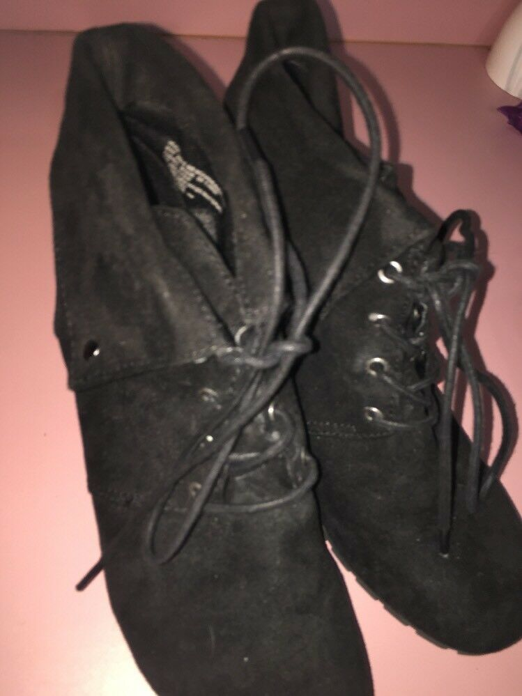 Man/Woman massini black boots size 9 durability suede durability 9 a wide range of products Personalization trend fc1dbe