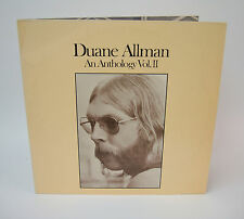 Duane Allman - An Anthology Vol.II | FOC | Capricorn 1974 | VG | Cleaned Vinyl