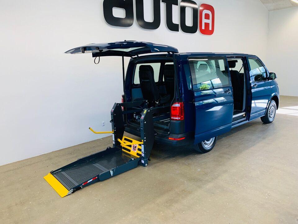 VW Transporter 2,0 TDi 150 Kombi DSG kort d, Diesel, aut.