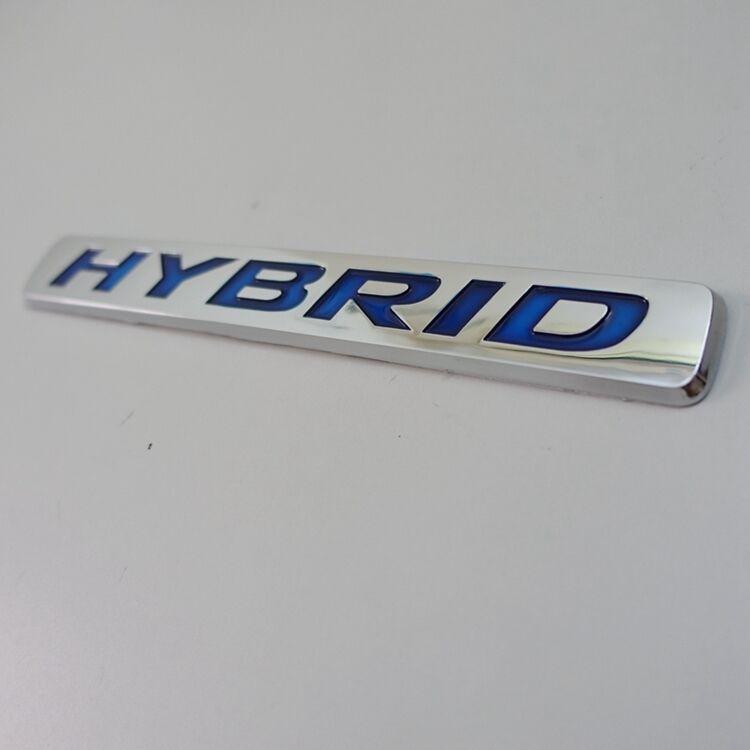 "/""HYBRID/"" Sticker Brand Universal Auto Car 3D Logo ABS New Emblem Badge Decal"