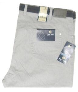 Pionier-Stoffhose-Peter-W60-L34-38K-deutsch-Stretch-Hellgrau-5648-82-2-Wahl