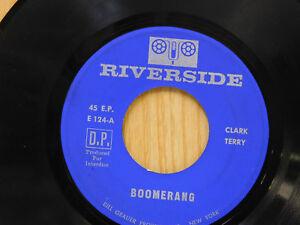 Clark-Terry-45-ep-Boomerang-bw-Serenade-To-A-Bus-Seat-Riverside-VG
