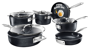 Granite-Stone-PRO-Stackable-Nonstick-Pots-amp-Pans-Set-10-Piece-Stackmaster-NEW