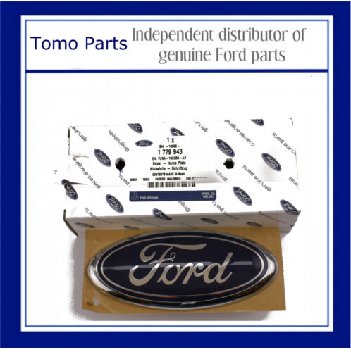 GENUINE NEW FORD TRANSIT CUSTOM 2012 ON// REAR DOOR FORD OVAL BADGE 1779943