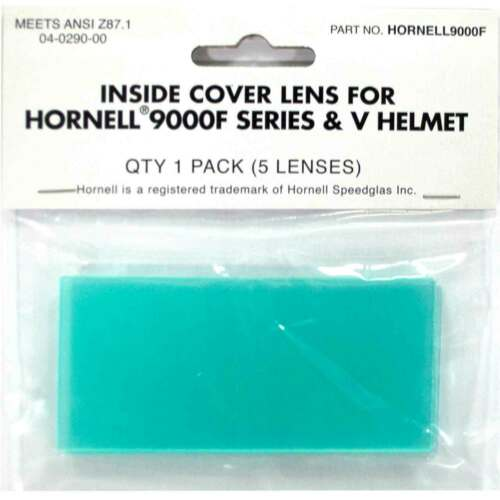 Weldcote Metals 3M Speedglas 04-0290-00 Inside Lens 100 Series Helmet 5 pack