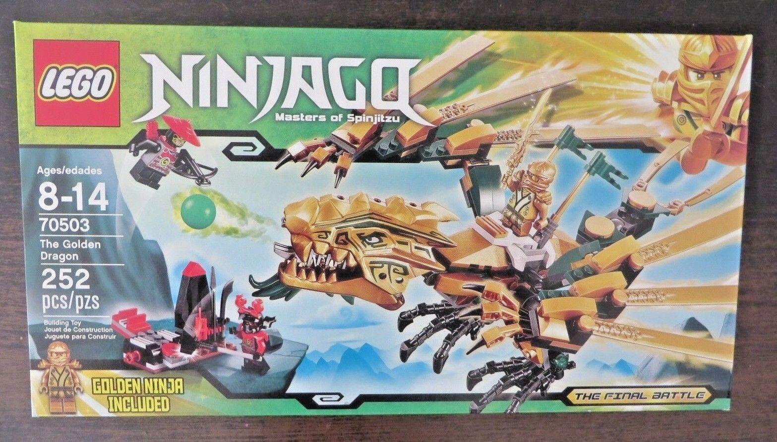 Lego 70503 - Ninjago - The Golden Dragon -  RetiROT - NISB