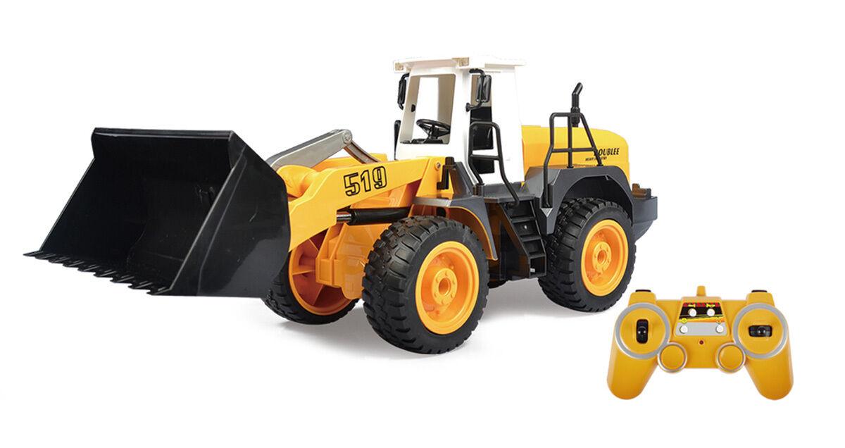 SIVA R C Wheel Loader großer ferngesteuerter Bagger mit Ladegerät 42cm 227320 NE