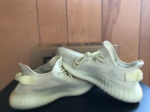 brand new d35d0 4e857 Details about Yeezy Boost 350 Butter US Size 9 Almost Deadstock Stock X  verified worn once