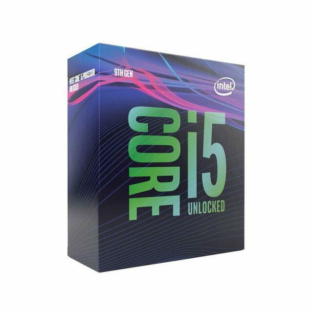 Intel Core i5-9600K Desktop Processor 6 Cores up to 4.6 GHz Turbo unlocked LGA1151 300 Series 95W with MSI 9th//8th Gen SLI CFX ATX Motherboard