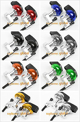 CNC Frame Sliders Crash Pads Left Right For Yamaha YZF R6 2006 2007 Multi Color