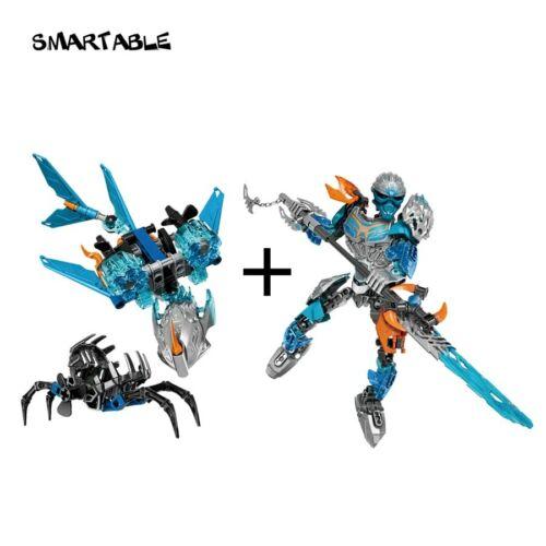 BIONICLE Akida Creature of Water+Gali Water Sea Shepherd Building Block Toys