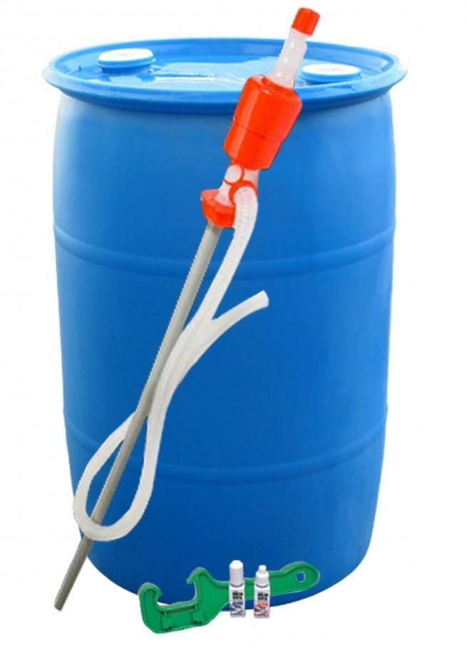 Augason Farms - 55 Gallon Barrel WATER STORAGE KIT, Emergency Survival