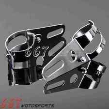 Motorcycle 35mm-54mm Headlight Mount Brackets Fork Ear For Harley Honda Suzuki