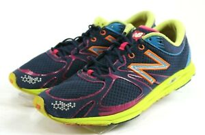 watch a4123 35385 Details about New Balance RC1400 $110 Women's Running Shoes Size 10.5 Blue  Pink Lime Green