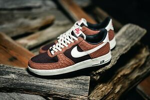 nike air force 1 marron homme