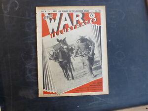 1941-THE-WAR-ILLUSTRATED-VOL-4-80-JAPAN-039-S-NAVY-BAULKANS-amp-PACIFIC