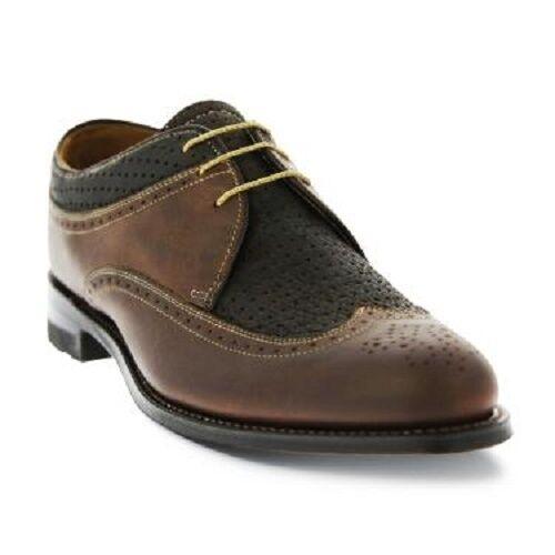 Mens Original Stacy adams Brockton Dayton Leather shoes Dayton 00625-200 Brown
