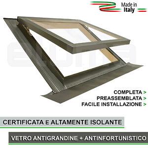 Finestra-da-tetto-Lucernario-COMFORT-VASISTAS-94x98-apertura-tipo-Velux