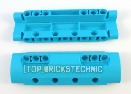 11954 6133928 Bowed Plate Panel 3x11x2 Ø4.85 Turquoise ⚠️LEGO® Technic⚠️ 2x