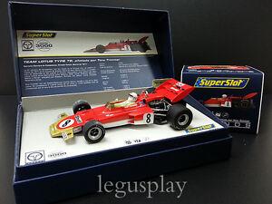 Slot-SCX-Scalextric-Superslot-Legends-H3657A-Lotus-72-Tony-Trimmer