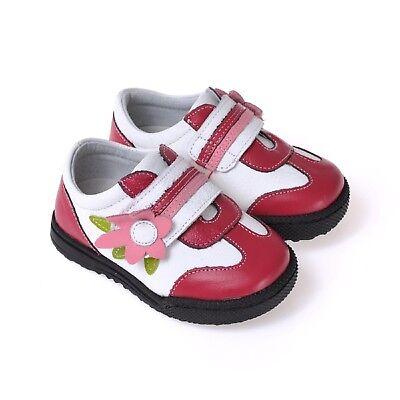 Apprensivo Caroch Ragazza Sneaker Bambini Scarpe Scarpe Basse In Pelle In Rosso/bianco-