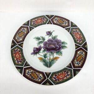 Amethyst-Kutani-Porcelain-7-3-4-034-Salad-Plate-George-Briard