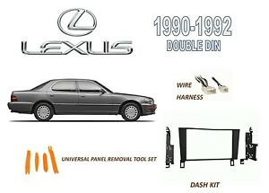 [SCHEMATICS_48IS]  NEW 1990-1992 LEXUS LS400 CAR STEREO DASH INSTALL KIT, with WIRE HARNESS |  eBay | 1990 Lexus Ls400 Wiring |  | eBay