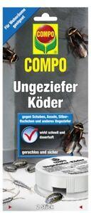 4 63 1stk Compo Ungeziefer Koder 2 Dosen Kuchenschaben Asseln Usw
