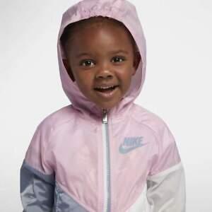 super popular 923ac 5a18d Image is loading Nike-Sportswear-Windrunner-Little-Kids-Jacket-2T-3T-