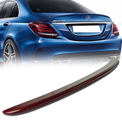 Stock in LA!Paint #996 RED Mercedes BENZ W205 A Type Rear Trunk Spoiler C300