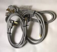 DRYER / RANGE ELECTRIC CORDS Male 3-PRONG PLUG 220 APPLIANCE POWER Lot of 3