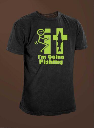 F/&#k It I/'m Going Fishing Men/'s  Funny Fishing T-shirt