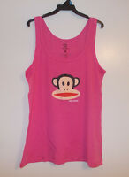 Paul Frank Julius Womens Pink Tank Top Size Medium