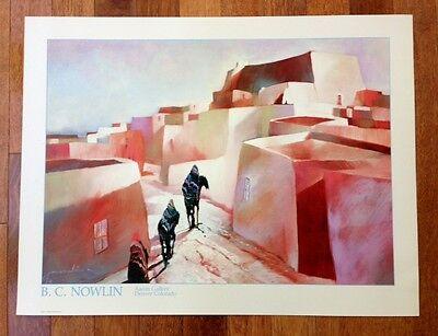 "Bruce Nowlin Poster /""Aaron Fine Arts/"""