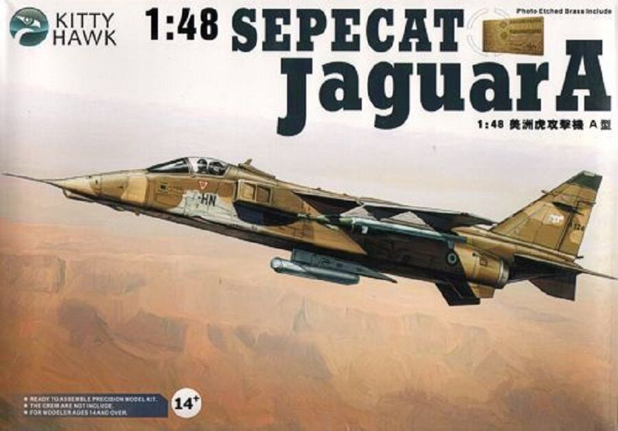 KITTY HAWK SEPECAT JAGUAR A Scala 1 48 Cod.KH80104