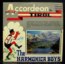 The Harmonica Boys Accordeon In Tirol LP VG+ Telstar TPO 4504 TL Stereo
