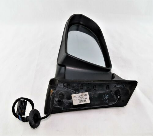 99-05 Left Side Electric Door Mirror 24462379 Black Vauxhall Zafira-A
