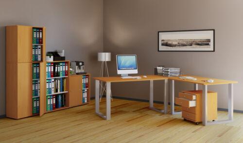 VCM Eckschreibtisch Schreibtisch Büromöbel Computertisch Winkeltisch Tisch Büro