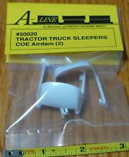 A-Line HO #50020 Tractor Truck Sleepers COE Airdam (2 in package) Plastic