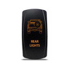 Rocker Switch Toyota Hilux Rear Lights Symbol - Amber LED