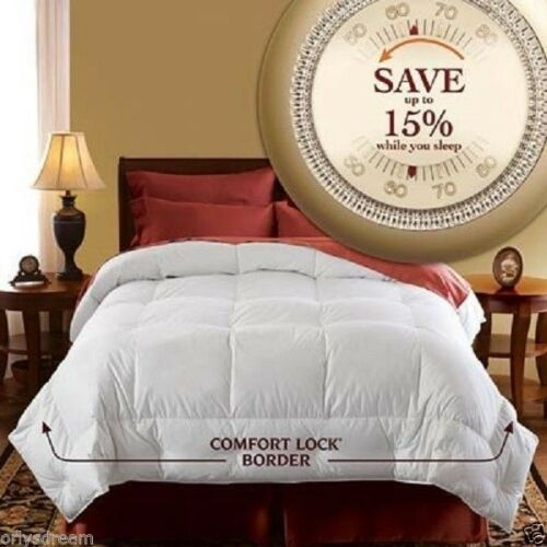 Hotel Grand Luxury Year Round Oversized Down Comforter Queen/Full 90
